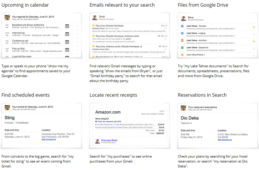 google search examples