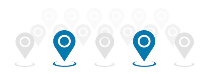 location-based marketing representation